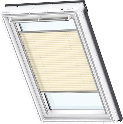 velux plisse rolgordijn original velux dachfenster plissee faltstores faltrollo