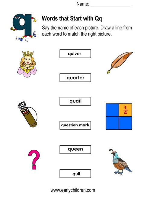 words with letter q letters starting with q letter of recommendation 25758 | words starting with q worksheets for kindergarten letters starting with q letters starting with q