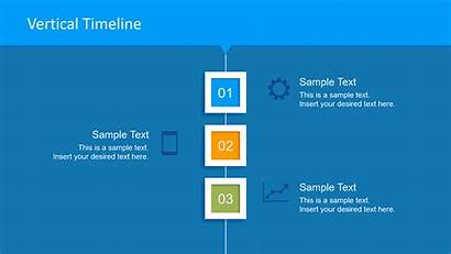 Professional Clean Powerpoint Layout Vertical Timelines Slide