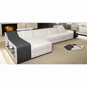 canape d39angle en cuir marseille rangement integre With canape cuir marseille
