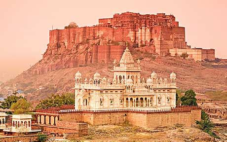 jodhpur india   city walls telegraph
