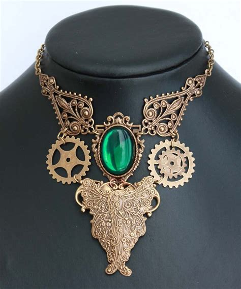 Steampunk Emerald Choker By Pinkabsinthe On Deviantart. Android Wear Watches. Triangular Engagement Rings. Diamond Bracelet Bangles. Ball Chain Bracelet. New Wedding Rings. Champagne Diamond. Yachtmaster Watches. Light Blue Engagement Rings
