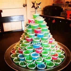 jello shot christmas tree christmas pinterest