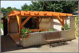 Terrassen berdachung selber bauen kosten terrasse for Terrassenüberdachung kosten