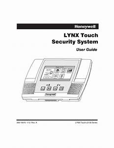 honeywell l5100 user guide With touch alarm system