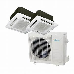 36000 Btu Dual Zone Ductless Mini Split Air Conditioner