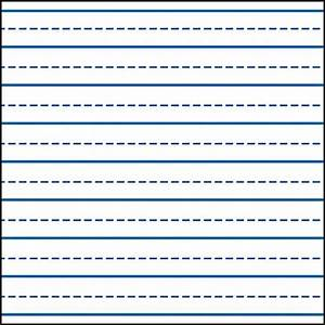 Writing lines for kindergarten writing skills for Learning to write paper template