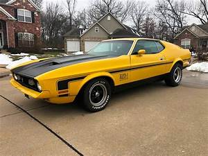 1972 Ford Mustang Mach 1 Fastback In Imperial MO - Gateway Auto Source