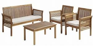Fauteuil Jardin Pas Cher : fauteuil bois salon de jardin ~ Teatrodelosmanantiales.com Idées de Décoration