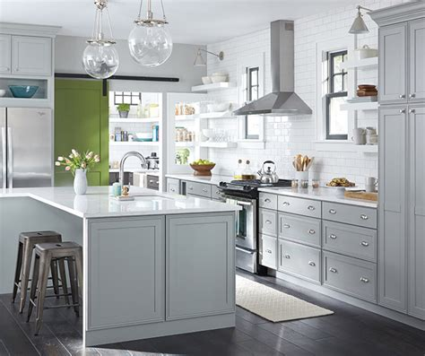 Gray Kitchen Cabinets by Light Gray Kitchen Cabinets Decora Cabinetry