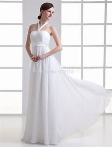 white ivory halter sheath strapless beading chiffon bridal With halter sheath wedding dress