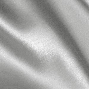 Stretch Charmeuse Silver - Discount Designer Fabric