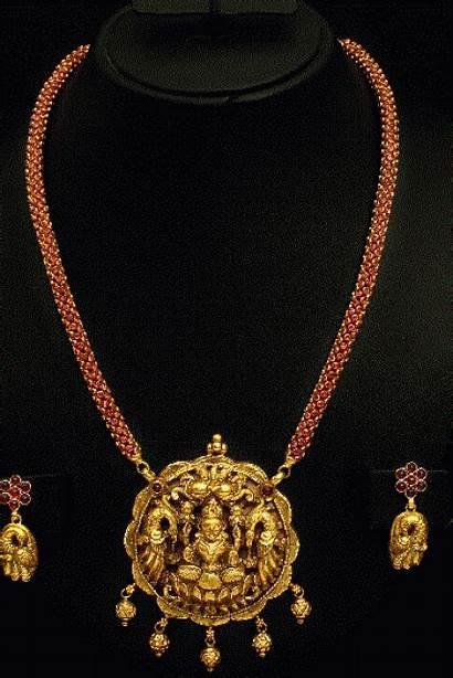 Chain Pendant Pota Ruby Nagas Gold Earrings
