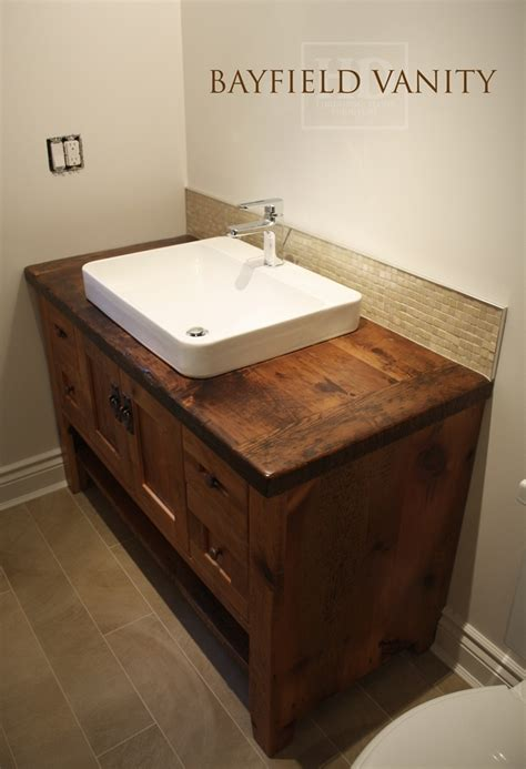 reclaimed wood furniture vanities hd threshing