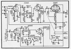 Hi fi amplifier schematics c 1954 preservation sound for A hifi preamp