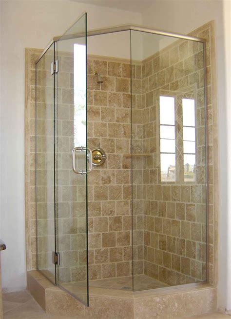 Corner Showers Enclosures For Small Bathrooms  Bathroom