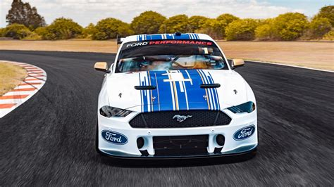 revealed ford mustang supercar