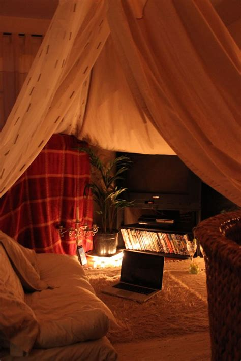 cozy sanctuaries  shelter   adulthood blanket fort cozy room cozy house