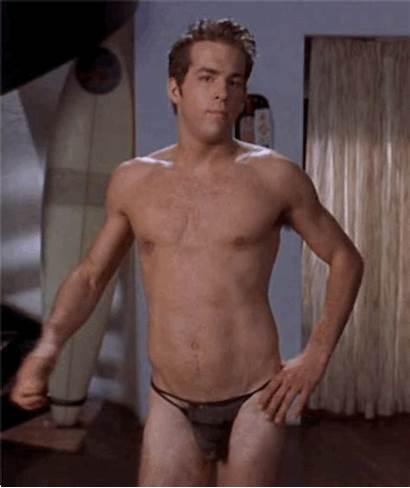 Ryan Reynolds Pants Plaid Hollywood Bulge Gay