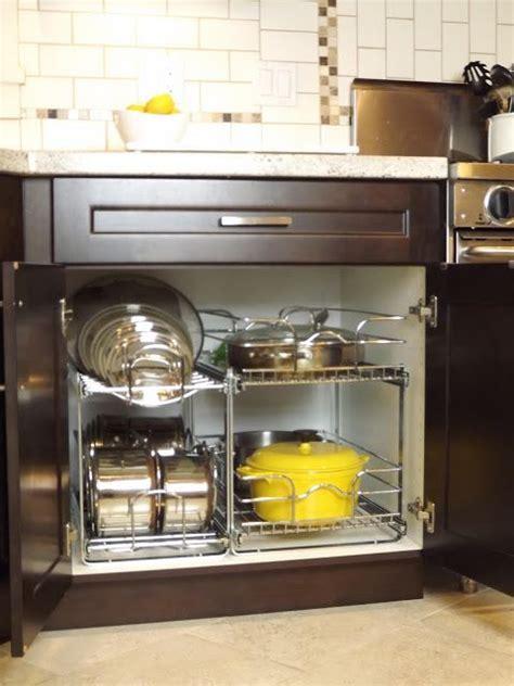 pots and pans storage kitchen ideas pinterest