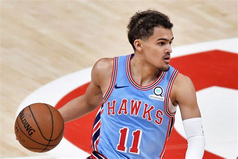 A look at the calculated cash earnings for trae young, including any upcoming years. Atlanta Hawks' Trae Young Wears Ice Trae Adidas Sneakers on the Court - Footwear News