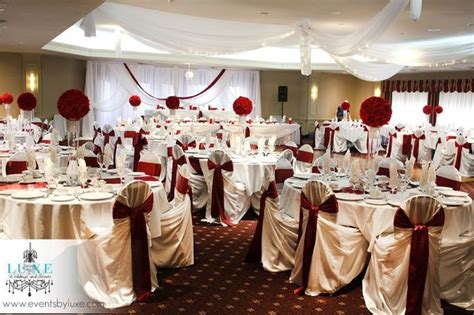 burgundy  white wedding burgundy  white wedding