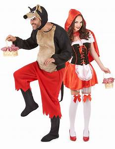 Déguisement Couple Célèbre : roodkapje carnavalskleding en wolf pak voor koppel ~ Melissatoandfro.com Idées de Décoration