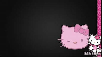 Kitty Hello Pink Backgrounds Background Desktop Mobile