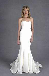 nicole miller dakota bridal gown in white lyst With nicole miller wedding dresses