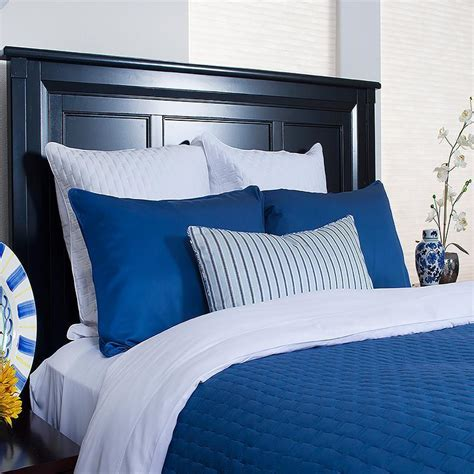 Bamboo Coverlet by Rayon From Bamboo Indigo Quilted Coverlet