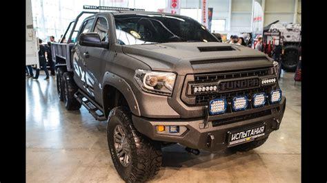 toyota tundra  wild truck camper youtube