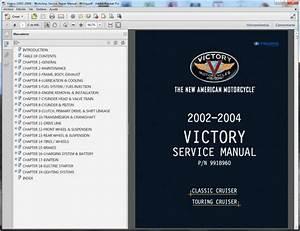 Victory Classic Cruiser  2002-2004  - Service Manual