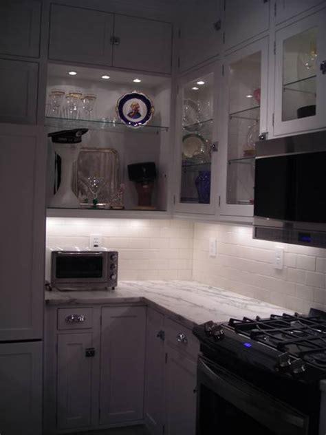kitchen glass cabinet lighting lighting project photos puck lights under cabinet lights