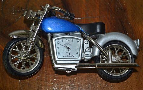 Miniature Motorcycle Clock, Breeze Collection Clock