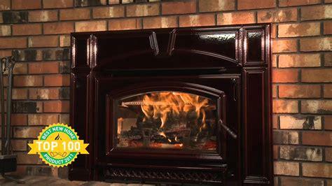 Quadra Fire Voyageur  Ee  Wood Ee   Insert Series Product Video