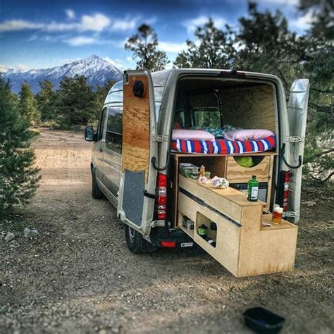 amazing camper van conversions travel trailers