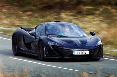 The McLaren's 3.8-litre twin-turbo V8 produces 727bhp and ...