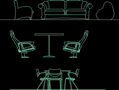 mobiliario sillas en autocad descargar cad gratis