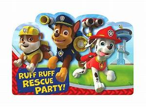 Paw Patrol Party Supplies - Sweet Pea Parties
