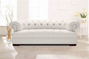 Chesterfield Sofa Weiss : chesterfield sofa in elegantem wei modell loxley ~ Eleganceandgraceweddings.com Haus und Dekorationen