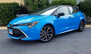 Quick Spin  2020 Toyota Corolla Hatchback Xse  Manual