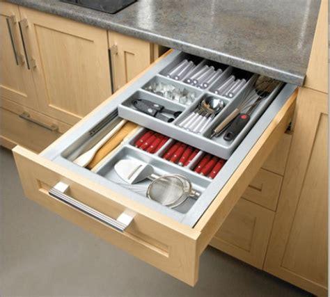 tiroirs de cuisine les rangements de tiroir