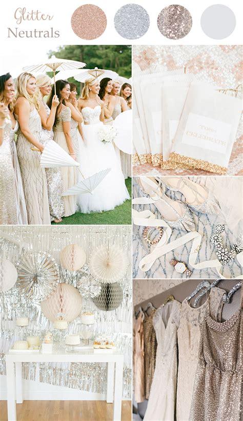 neutral wedding colors wedding colors 2016 10 color combination ideas to
