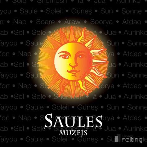 Saules un Jupitera gongu skaņas Saules muzejā - Atpūta ...