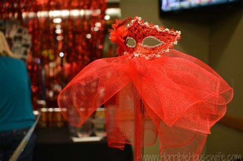 Red and Black Masquerade Party  Michigan Party Planner