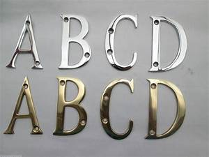3quot brass numbers letters ironmongery world With brass alphabet letters