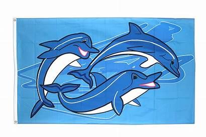 Flag Dolphins Oceanic Flags 3x5 Ft Delfine