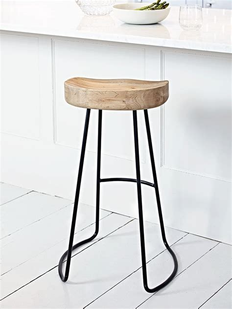 High Stool Chairs For Kitchen by Best 25 Metal Stool Ideas On Stools Wooden