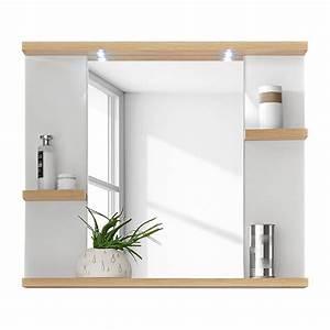 Spiegel Bad Mit Ablage : energie a spiegel bjerka inclusief verlichting wit ~ Michelbontemps.com Haus und Dekorationen