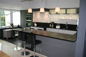 cuisine ouverte avec comptoir 6 meuble cuisine pas cher With cuisine ouverte avec comptoir